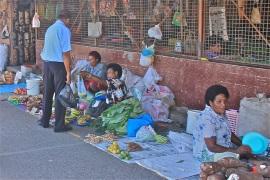 Market in Lautoka.